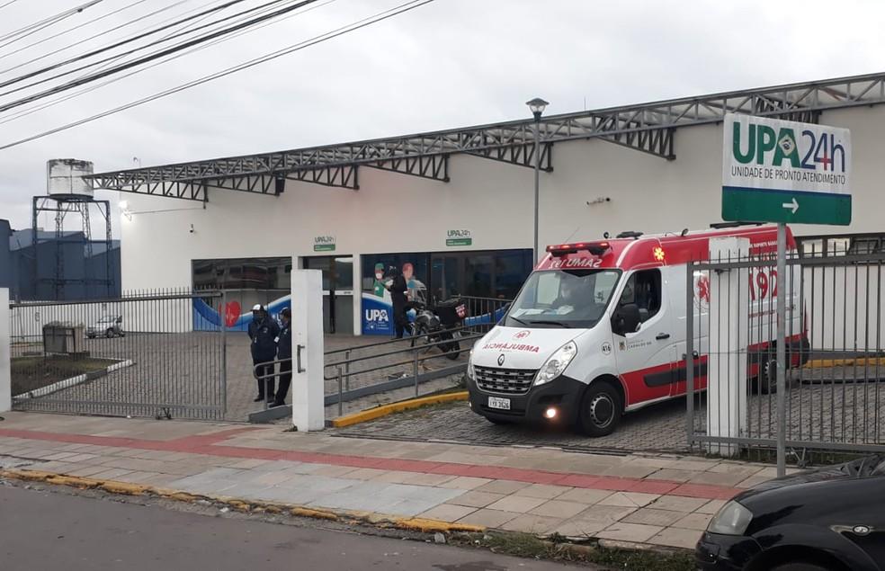 UPA 24h de Caxias do Sul �- Foto: Róger Ruffato / RBS TV