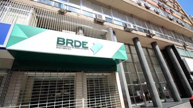 Sede do BRDE no Centro de Porto Alegre - Foto: BRDE Divulgação