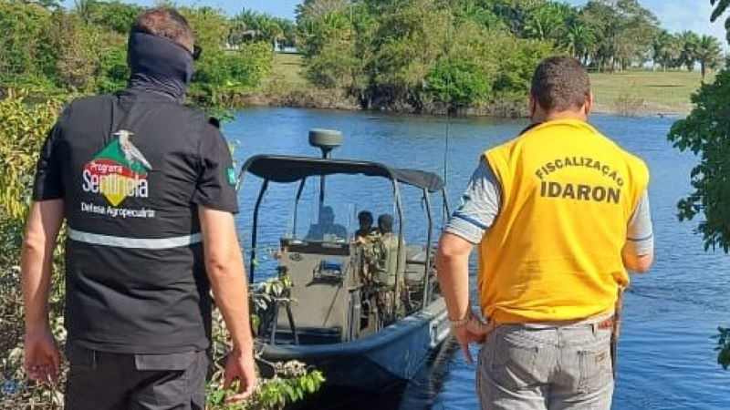O Vigifronteira realiza operações integradas com os diversos órgãos de segurança, defesa e fiscalização - Foto: Divulgação Seapdr