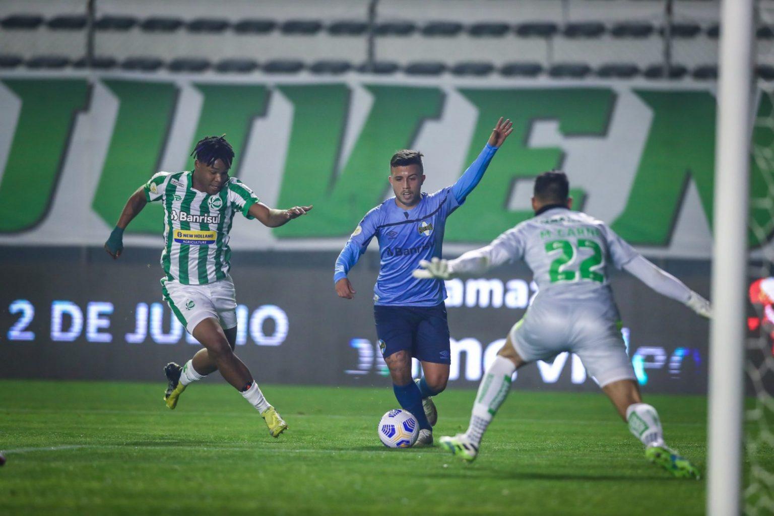 O resultado manteve o Tricolor na lanterna, com apenas 2 pontos somados. (Foto: Lucas Uebel/Grêmio FBPA)