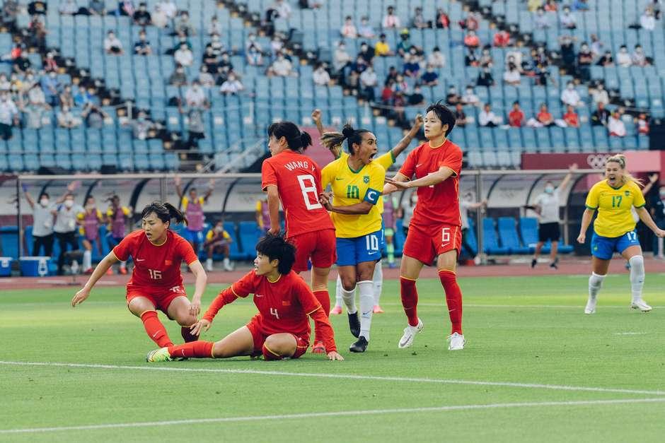 Os gols brasileiros foram marcados por Marta (dois), Debinha, Andressa Alves, de pênalti, e Bia Zaneratto Foto: Sam Robles/CBF